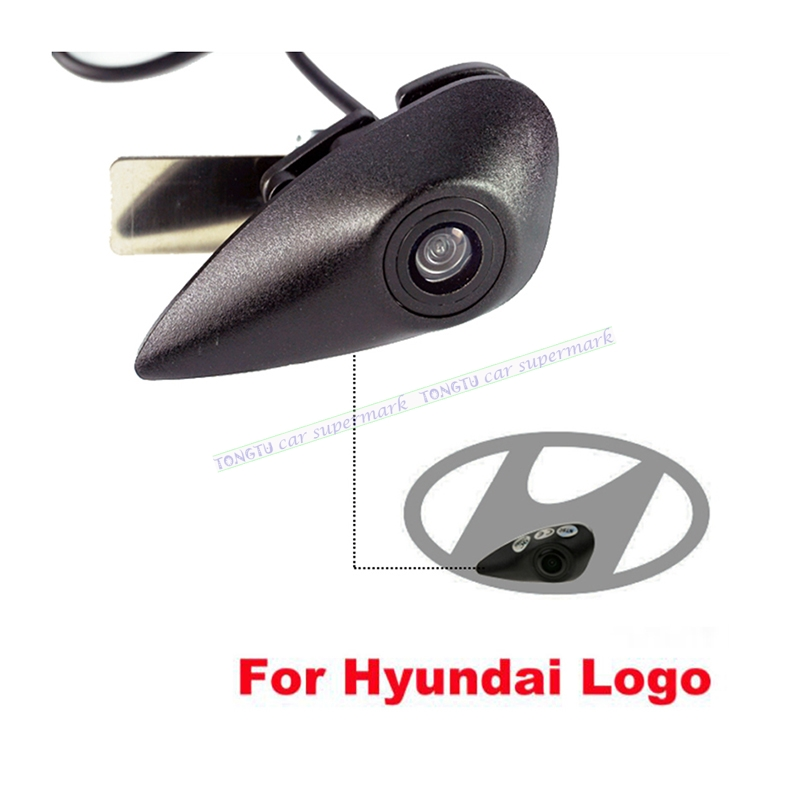 3Sizes Vehicle Logo Mark 520L CCD Car Front View Camera Special for Hyundai Series Firm installation in the car logo car front camera parking system waterproof wide angle ccd hd color for hyundai logo front camera mark emblem camera