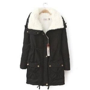 Image 5 - ฤดูหนาวเสื้อผ้าผู้หญิงขนแกะ Lamb Fur Parka หนาผู้หญิงฤดูหนาวเสื้อโค้ทและแจ็คเก็ต Warm Parkas Women Plus ขนาดเสื้อแจ็คเก็ตฤดูหนาวผู้หญิง