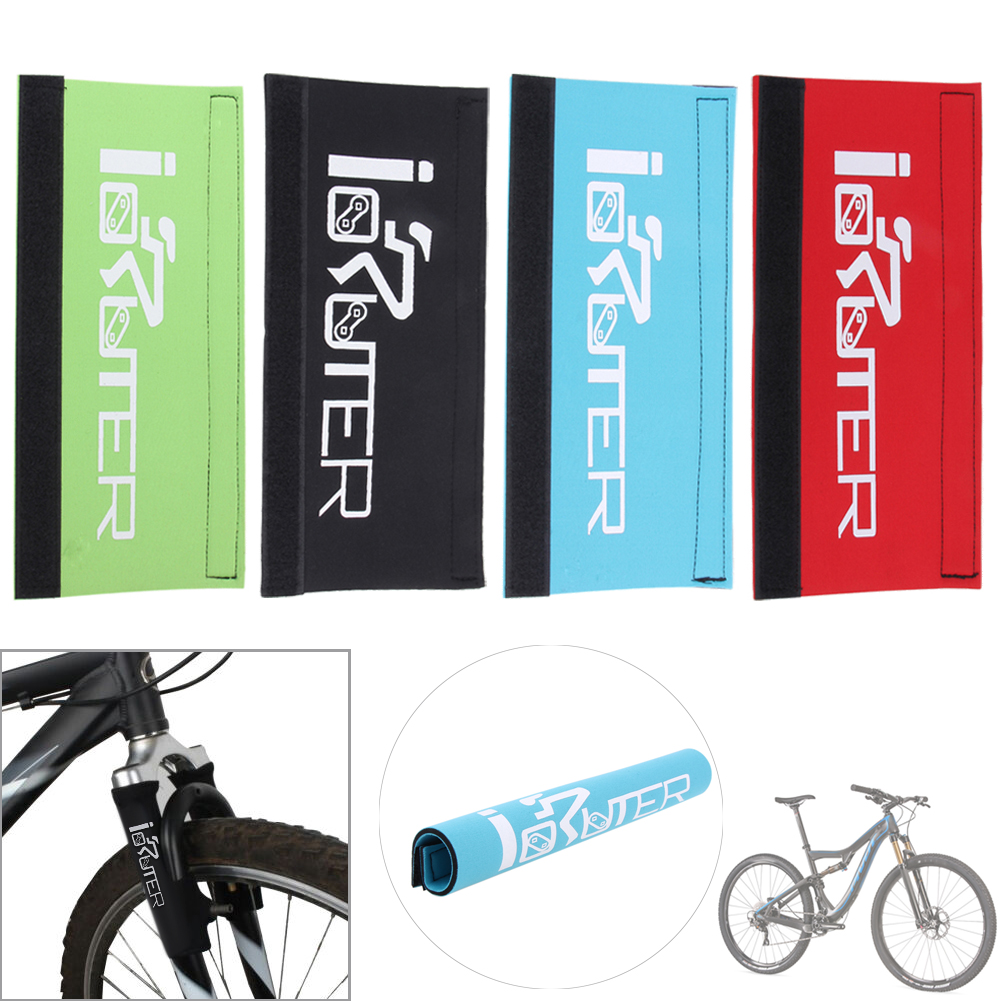 Bike Bicycle Frame Chain Protector Mountain Bike Stay Front Fork Protection Guard Protective Pad Wrap Cover Bicycle Accessories