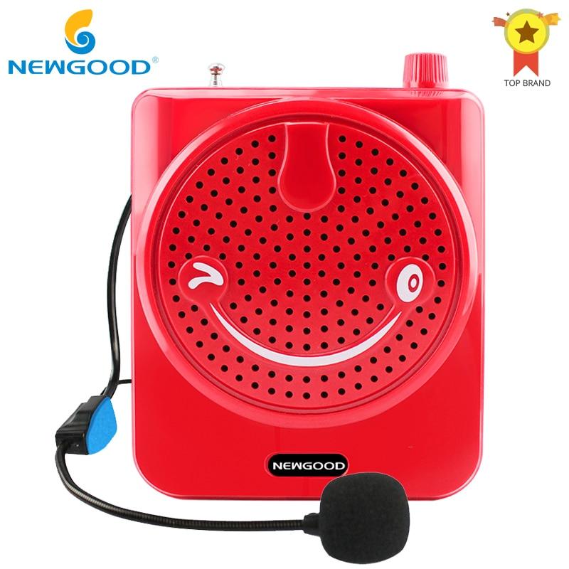 T200 Tragbare Verstärker Megaphon Booster Mit Wired Mikrofon Lautsprecher Tragbare Lautsprecher 10 W Für Lehrer Guider Trainer Tragbares Audio & Video