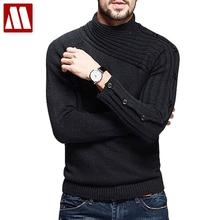 Mens Sweaters And Pullovers Turtleneck Solid Pullover Men Clothing Slim Fit Sweater Vestidos Pull Homme Marque Sueter Hombre