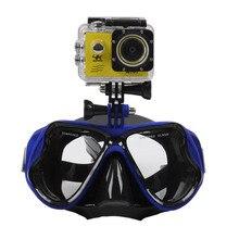 Профессиональная термо Дайвинг камера маска для дайвинга очки для подводного плавания Спортивная камера GoPro 5 цветов