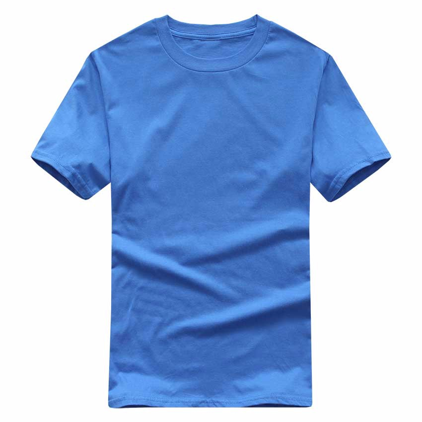 19 New Solid color T Shirt Mens Black And White 100% cotton T-shirts Summer Skateboard Tee Boy Skate Tshirt Tops European size 4