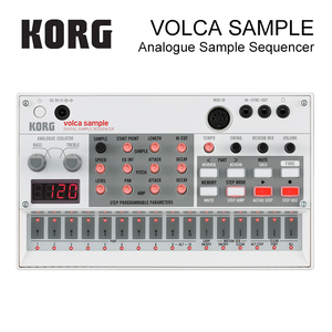 Korg Volca Sample Playback Rhythm Machine Tweak, Play, and Sequence Samples Volca Style(China)