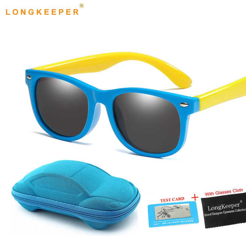 abc782198e Verano lindo polarizado niños Gafas de sol Flexible de los niños Gafas de  sol para bebé