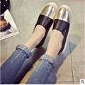 The new 2017 Spring Women Shoes Flat Shoes PU White Black Casual Shoes a Pedal Lazy Single Shoes size 35-39
