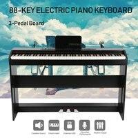 480 Tons 88 Chave Piano Elétrico Para Crianças Instrumentos Musicais Teclado de Piano Digital LCD Com Suporte Universal Inteligente para casa|Módulos de automação residencial| |  -