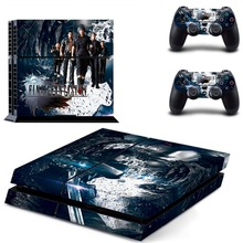 Final Fantasy XV Decal PS4 Skin Sticker For Sony Playstation 4 Console +2Pcs Controllers 7 patterns