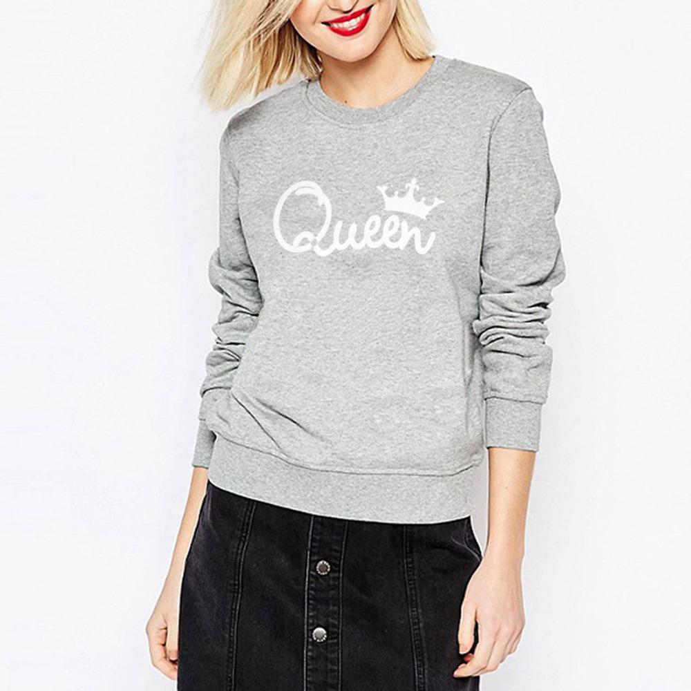 HTB14EDoSXXXXXX9XpXXq6xXFXXXl - Women's Hoodies Printed Queen Sweatshirt girlfriend gift ideas