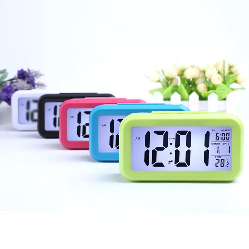 Image 5 - Student bedside smart alarm clock light control multi function square smart clock factory direct children's electronic gifts-in Personal Care Appliance Accessories from Home Appliances