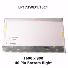 "17.3"" LCD Screen Display Panel Matrix LP173WD1 TLC1 LP173WD1 TLC2 LTN173KT01-H01 LP173WD1 TLN1 TLN2 B173RW01 V.1 B173RW01 V.2"