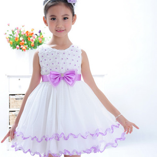 Подробнее о Kids Flower Girl Dresses Princess Wedding Dress for Girls Children Sleeveless Evening Party Dress Summer Pageant Clothes 3-10Y baby 2017 flower children girl costumes kids princess party wedding dresses brazil girls clothes teen girl evening chiffon dress