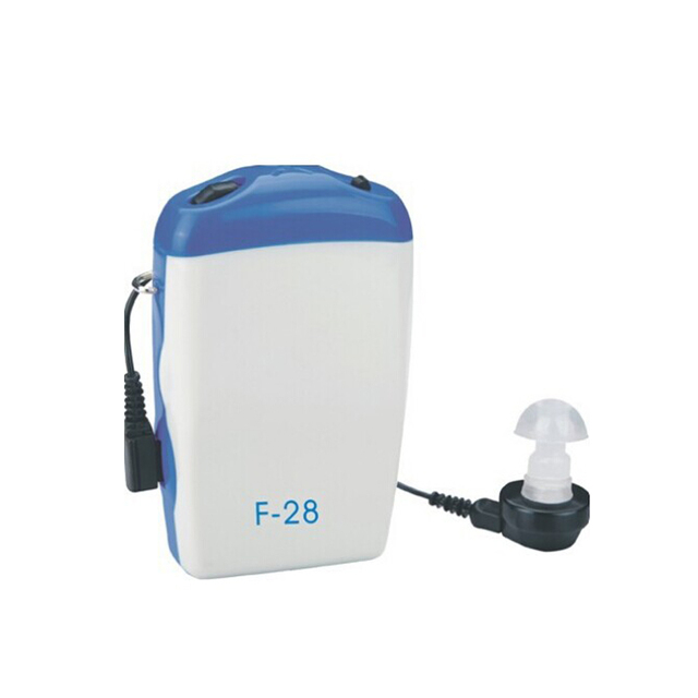 Hearing Aids F-28 Sound Ear Amplifier Ear Aid Hearing Device Hear Clear for the Elderly Portable Adjustable Tone Health Care