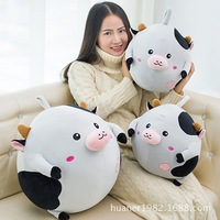 Cows plush toy doll soft pillow gift girls super soft cushion high quality Animal cow doll