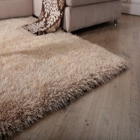 WINLIFE Soild Color Shaggy Carpets European Style Decorating Soft Rugs Graceful Anti Skid Living Room/Bedroom/Hotel Mats
