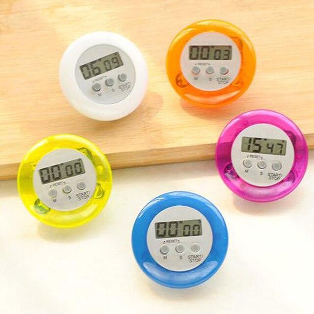 LCD dijital mutfak geri sayım manyetik zamanlayıcı geri standı pişirme zamanlayıcı yukarı yukarı çalar saat mutfak alet pişirme araçları