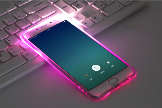 Aliexpress.com : Buy Soft TPU LED Flash Light Up Case Remind Incoming Call Cover For Samsung