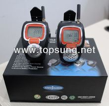 new model~freetalker 22 channel watch walkie talkie pair 2-way radio watch cellphone frs/gmrs radios as much as 3km w/ 121 non-public code