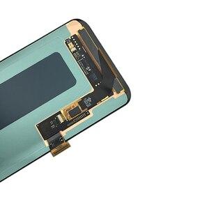 Image 5 - Mới Super AMOLED Dành Cho Samsung Galaxy Samsung Galaxy S8 Màn Hình LCD Khung S8 G950 G950F Màn Hình Hiển Thị LCD S8 Plus G955 G955F Màn Hình LCD bộ Số Hóa Màn Hình Cảm Ứng