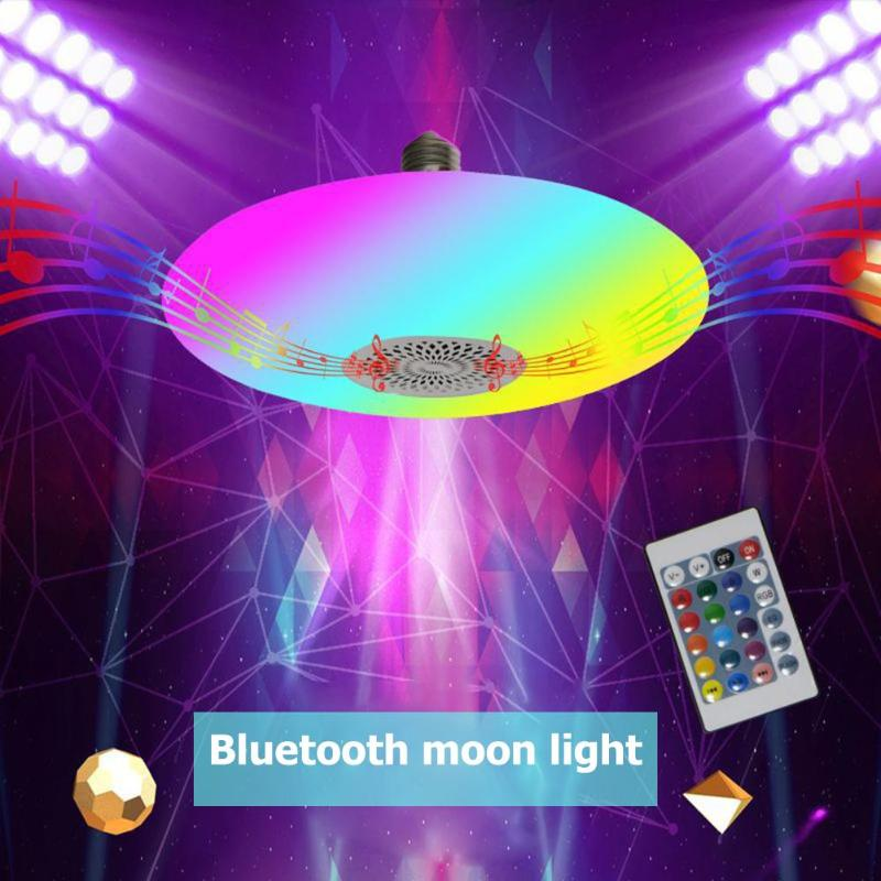 LED Ceiling Lights RGB Dimmable 30W APP Remote Control Bluetooth Music Light Bedroom Lamps Colorful Home Decor Lamp