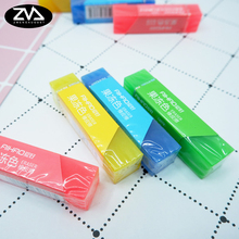 1X Creative cute jelly color Eraser Rubber Stationery  Shaped kawaii School Supplies learning office supplies