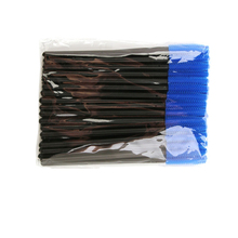 Silicone eyelash brush head lashes pack 5 colors disposable makeup brushes tools 50pcs/pack Cosmetic Tools
