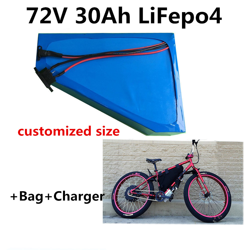 Li-ion Lihthium Battery Pack Bag E-bike  Scooter Storage For Electric Bicycles
