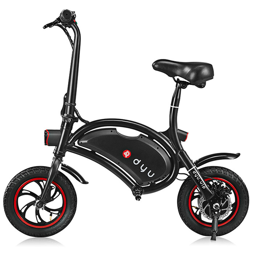 e67dafffa85 Free Shipping 100% Original DYU D1 12 inch Wheels 10Ah Smart Folding  Electric Bicycle Bike ( Deluxe Version ) - aliexpress.com - imall.com