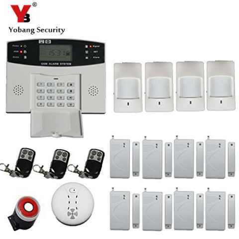 Yobang Security -30A Home Security Wireless Alarm System GSM Home Burglar Alarm Kits New Version PIR Infrared GSM SMS Alarm yobang security 30a home security wireless alarm system gsm home burglar alarm kits new version pir infrared gsm sms alarm