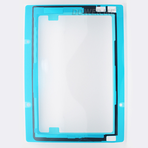Image 2 - 10Pcs/Lot Front LCD Screen Display Sticker Frame Waterproof Adhesive For Sony Xperia Tablet Z2 SGP521/541 SGP511/512/561