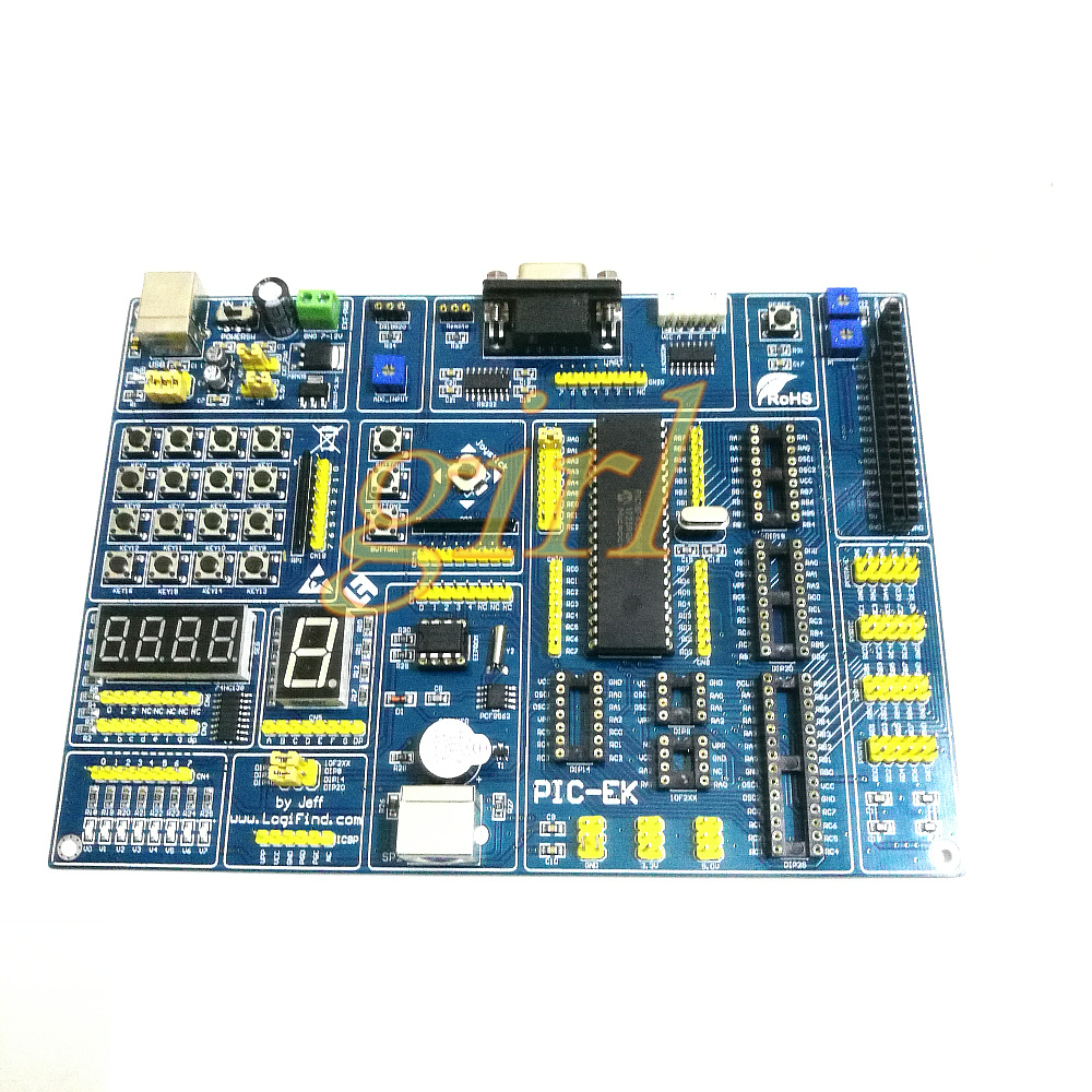 For Microchip Pic Microcontroller Development Board Pic16f877a Ir Infrared Sensor Circuit Connected A With Pic18f4550 Mcu Learning Usb Ek