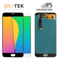 SRJTEK For Meizu MX5 LCD Display Touch Screen For Meizu MX5 Glass Digitizer With Frame Replacement Parts 1920*1080