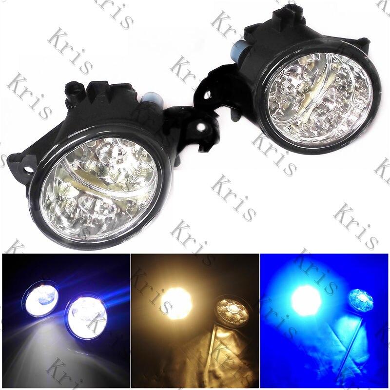 For Renault ESPACE 4/IV (JK0/1_) MPV  2003-2012 Fog Lamps DRL Front Lights LED  261508990A  4419375 3000-10000K