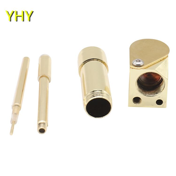 Brass Proto Pipe Vaporizer 3.9 Inch Portable Metal Smoking