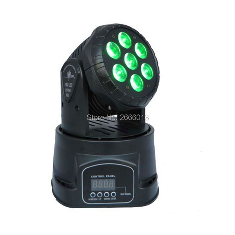 Factory directly sale 4in1 RGBW 7X12W Led Moving Head Light,Disco DJ Party Night Club Pub Bar 7*12W LED moving head Wash light led rgb wall wash bar light dmx512 night club wedding party disco stage