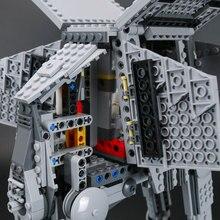 Lepin 05051 Force Awaken The AT toy AT Transpotation Armored Robot 75054 Star Series Wars Building Blocks Bricks DIY Kids Gift