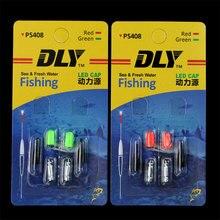 4PCS Carp Fishing Electronic Light Sticks Night Fishing Float Rod Light Waterproof Glowing Lamp Lights Luminous Sticks