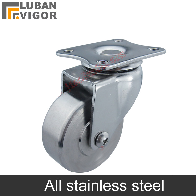 Stainless steel rigid Directional Swivel wheel, universal casters With brake,strong and sturdy,use Outdoor board ,home hardwareStainless steel rigid Directional Swivel wheel, universal casters With brake,strong and sturdy,use Outdoor board ,home hardware