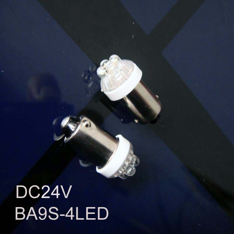 High quality BA9s 24v led lamp,BA9s led 24v Indicator Light led Pilot lamps BA9s 24v led Signal lights free shipping 10pcs/lot