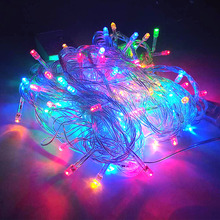 лучшая цена ZGX 220V LED String Light Colorful neon lamp Holiday Decor Strip Lighting Christmas Tree Party Garland New Year Wedding Garden