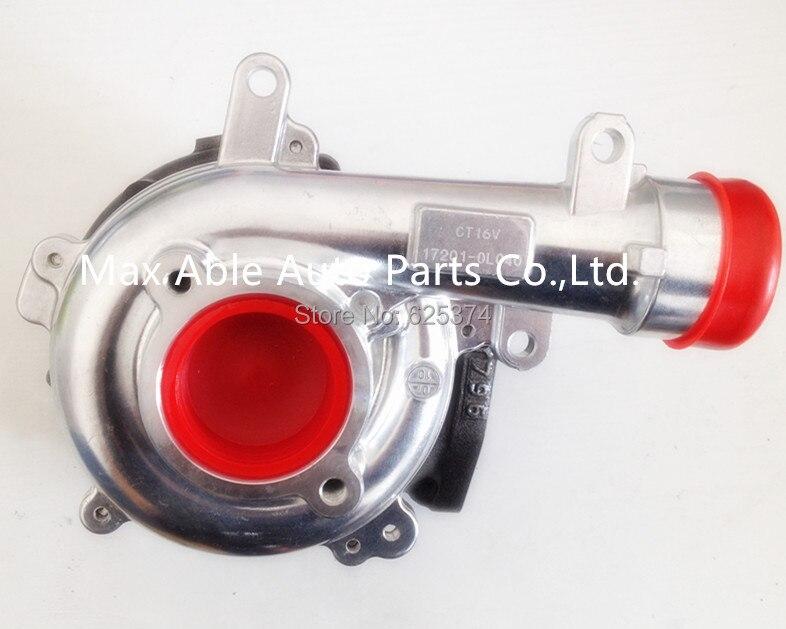 Турбокомпрессор CT16V 17201-OL040 17201-0L040 для Landcruiser HI-LUX Hilux ViIGO