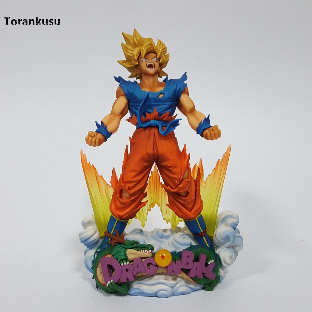 Dragon Ball SMSD Son Goku Action Figures Anime Dragonball Original Brand Collectible Model Toy DBZ Dragon Ball Super dragon ball z action figures super saiyan son goku grey color anime dbz collectible model toys 350mm dragon ball gt toy