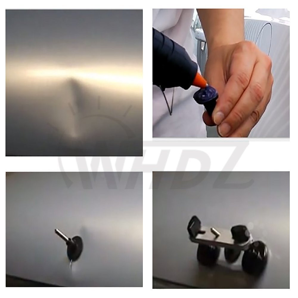 Automotive Paintless Dent Repair Tools Dent Removel Lifter with Metal Lifter Bridge Glue Puller Tabs Tap Down Glue GunSticks (1)