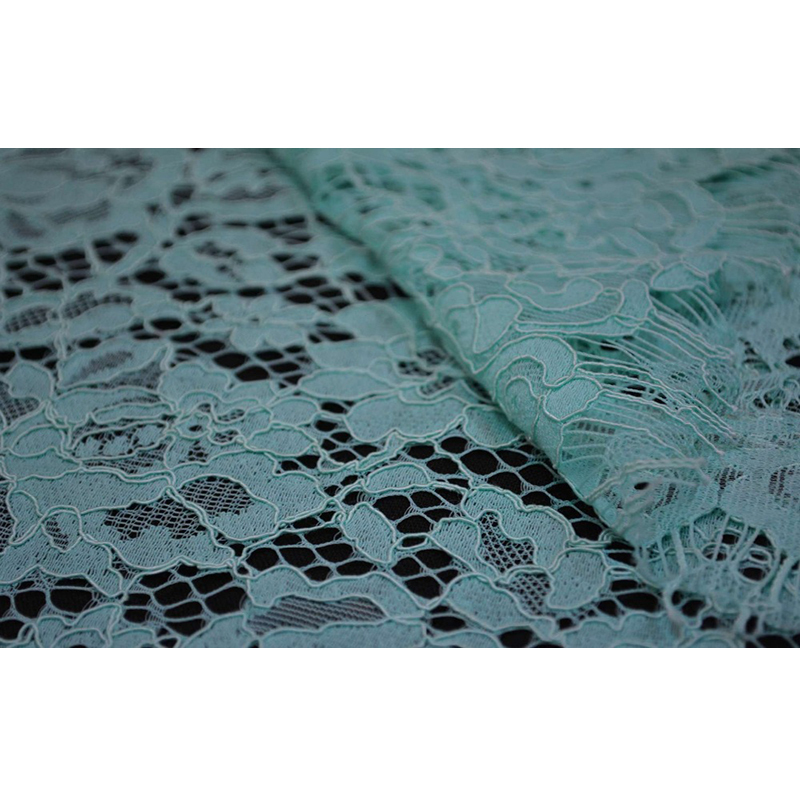 Image 3 - Free shipping ! Openwork eyelash lace wedding dress fabric curtain background lace fabric wide 150cm  ZZ086-in Lace from Home & Garden on AliExpress