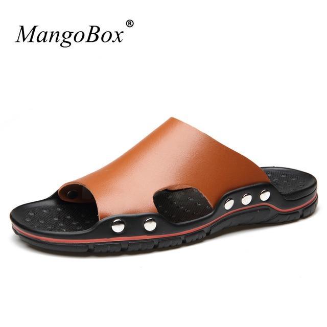 Men Fashionable Anti-slip Outdoor Beach Slippers cheap best place iIUXymPXlS