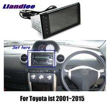 """Liandlee """" для Toyota ist 2001~ автомобильный Android радио плеер gps NAVI карты HD сенсорный экран ТВ Мультимедиа без CD DVD"""