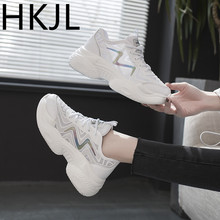 HKJL Womens shoes summer 2019 new sports womens casual mesh wild breathable tide net Z020