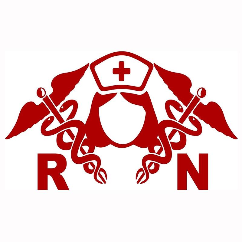 Registered Nurse  Vinyl DecalSticker