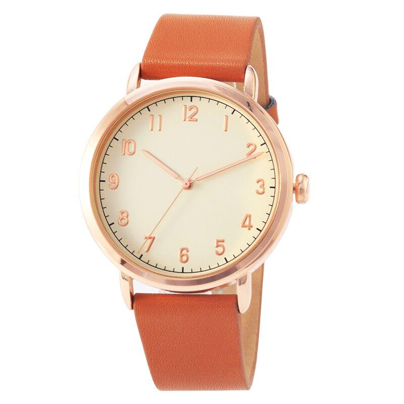big case simple style women watches luxury fashion quartz wristwatches drop shipping woman clock montre femme chic style