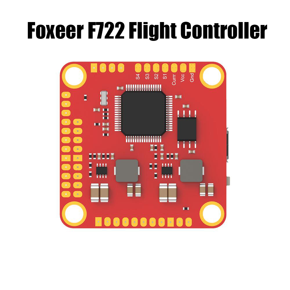 Foxeer F722 AIO F7 Dual Flight Controller STM32F722RGT6 MPU6000 and <font><b>ICM20602</b></font> OSD 3~6s for FPV RC Racing Drone kits image